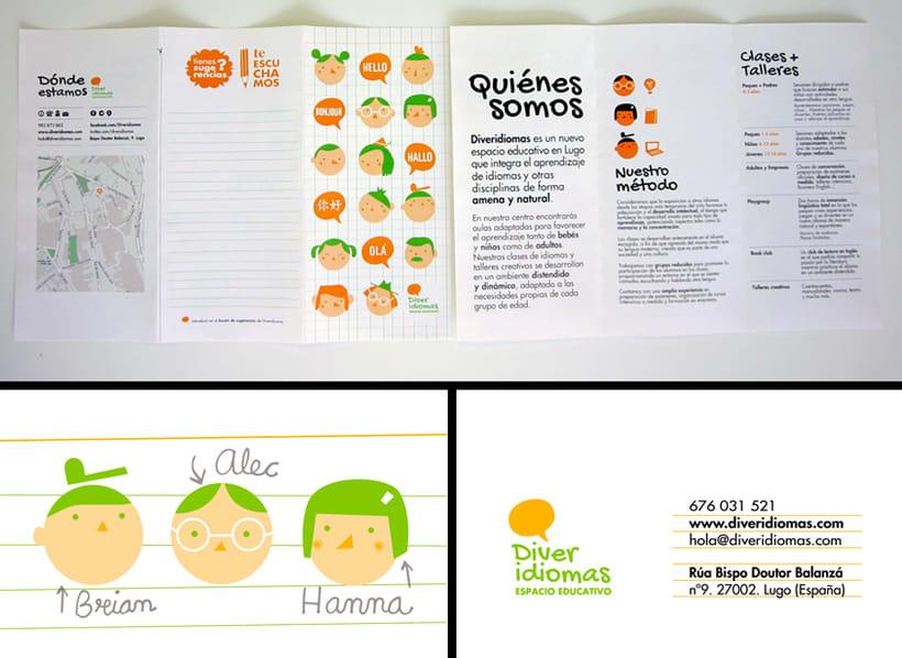 Diveridiomas. Academia infantil de idiomas. Espacio educativo. -1