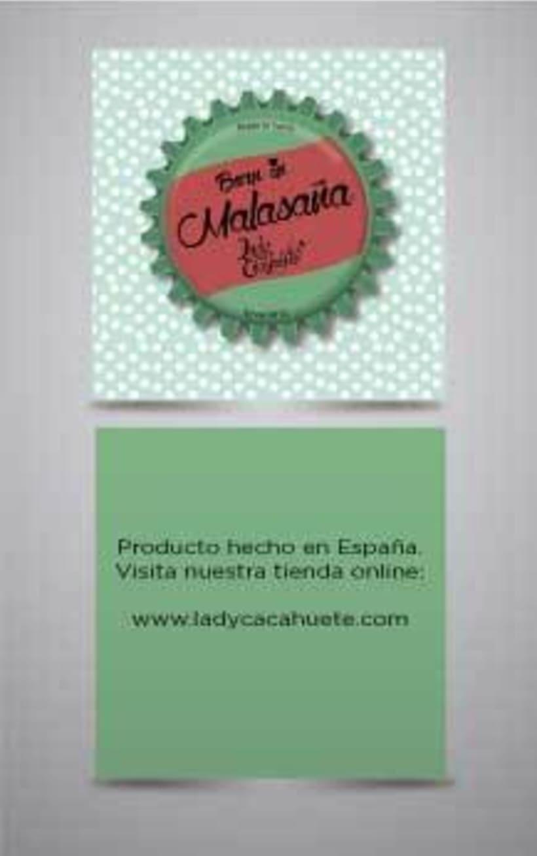 Ilustración decorativa para escaparate y diseño de etiquetas de ropa, para Lady Cacahuete 2