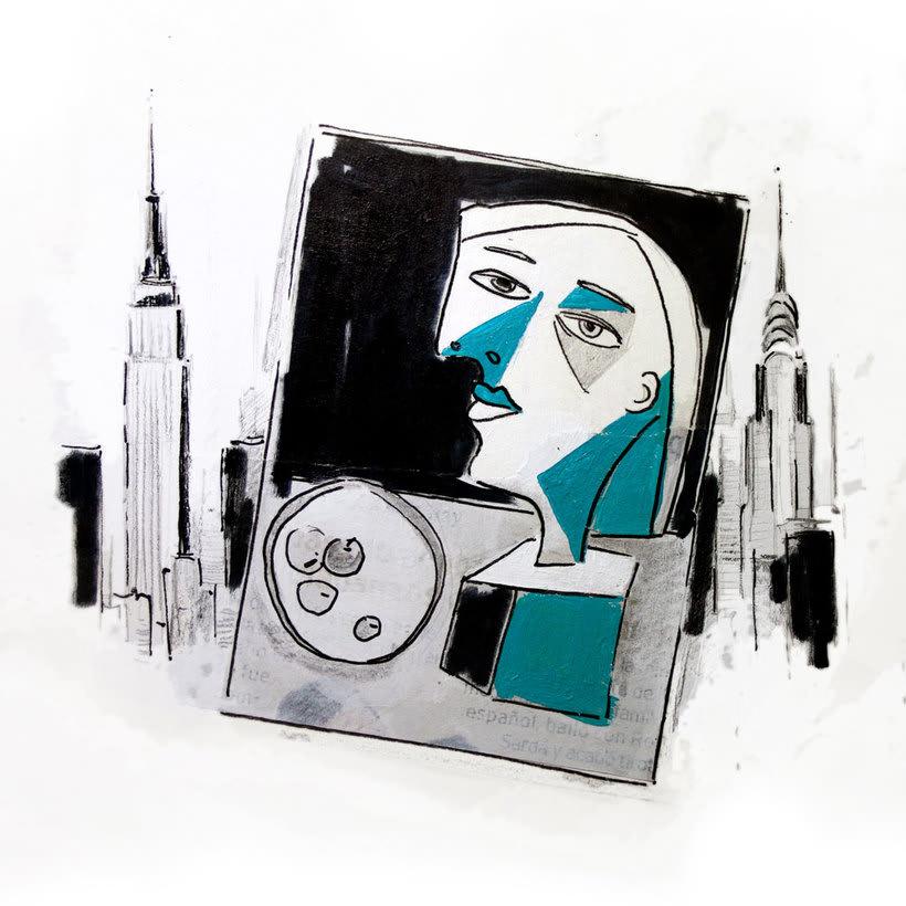 Compro, robo, vendo un Picasso // Ilustración 1