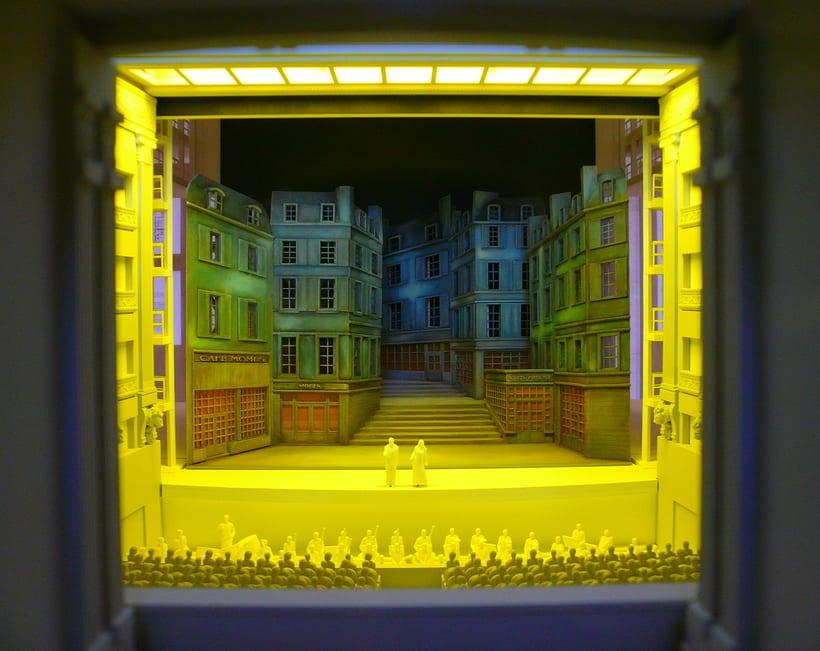 Maqueta robotizada de la caja escénica del Teatro Real  2