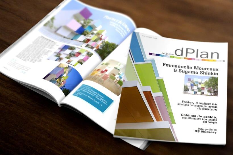 Maquetación revista dPlan 1