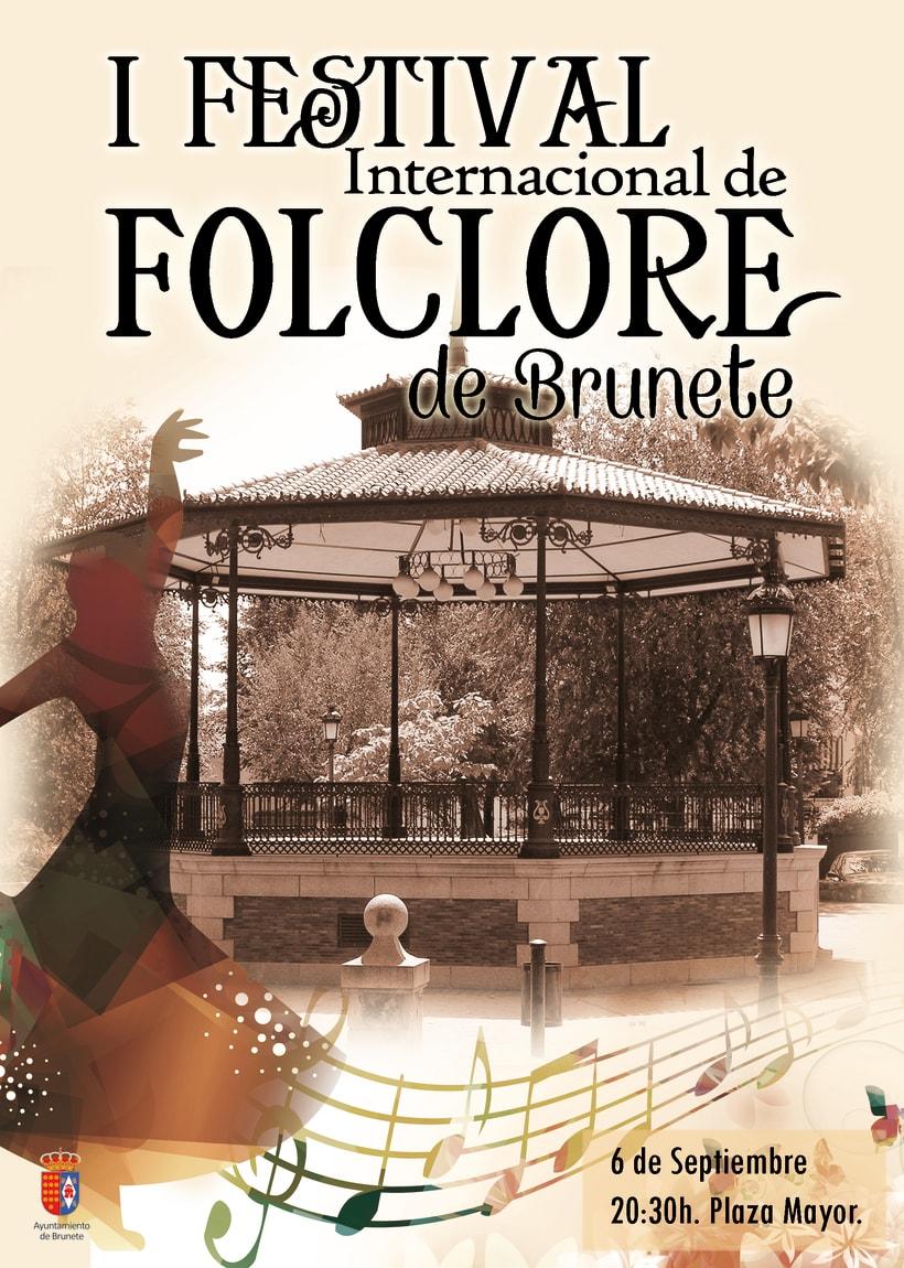 Revista I Festival Internacional de Folclore de Brunete -1