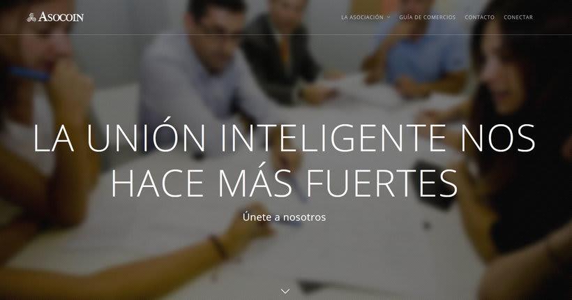 www.asocoin.com - Web con panel interno para trabajadores. -1
