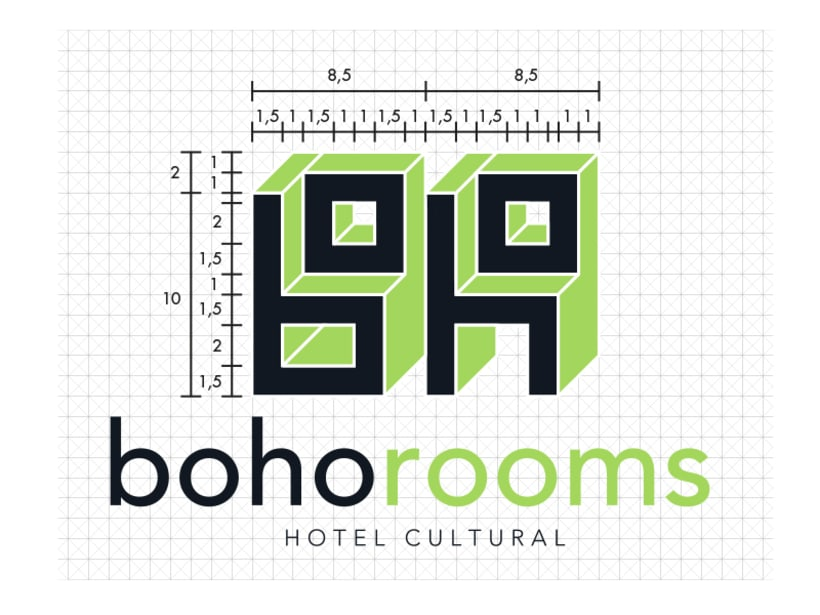 Identidad corporativa Boho Rooms. Manual de Identidad Corporativa 5