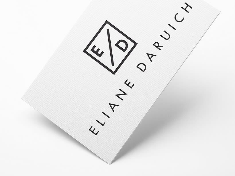 Eliane Daruich. Diseño logotipo. 0