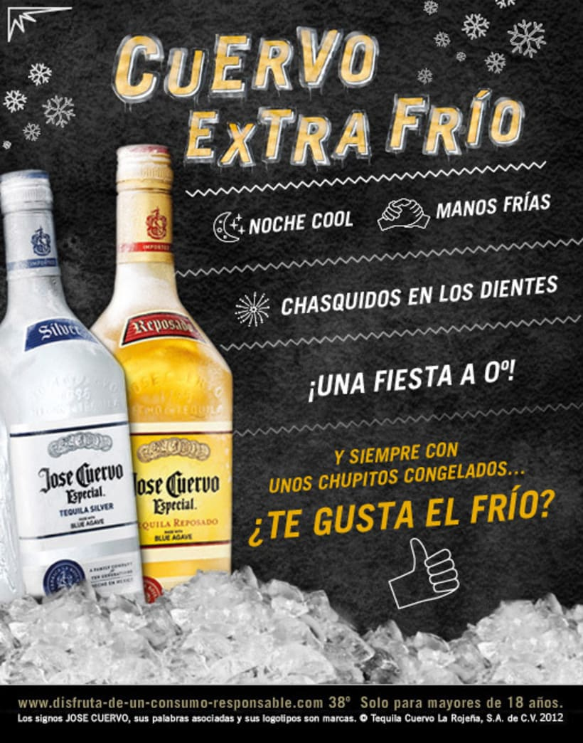 Cuervo Extra Frío (Facebook App) 0