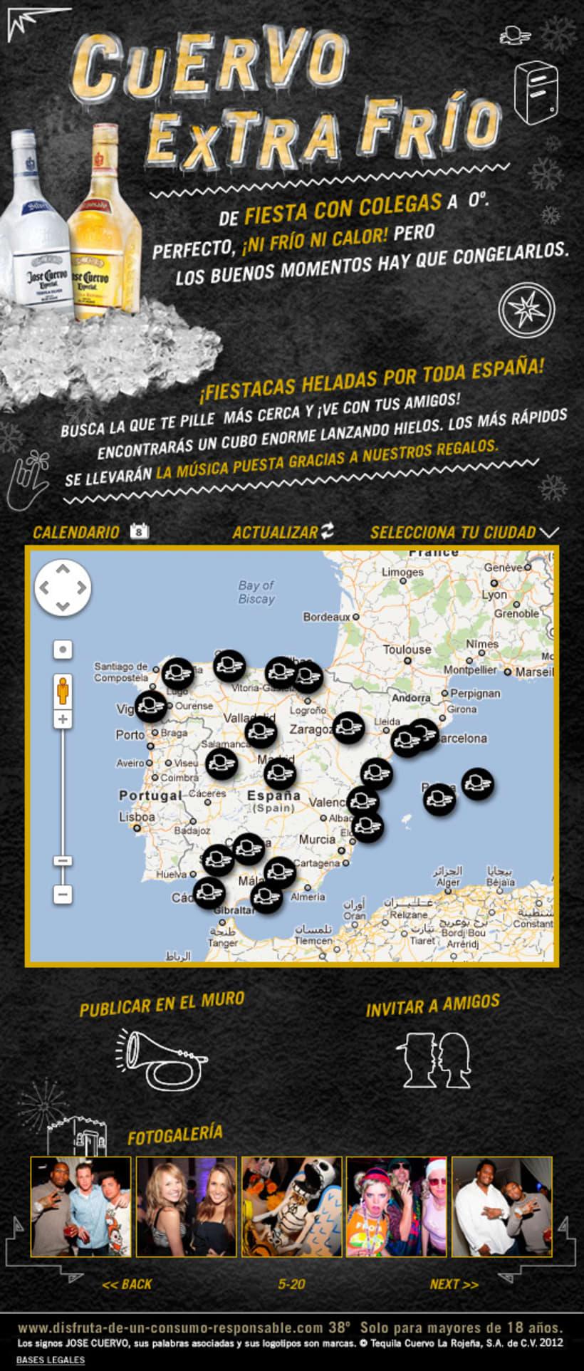 Cuervo Extra Frío (Facebook App) 1