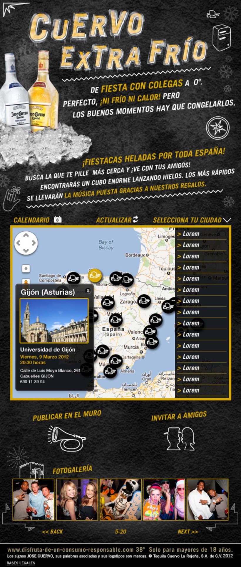 Cuervo Extra Frío (Facebook App) 2