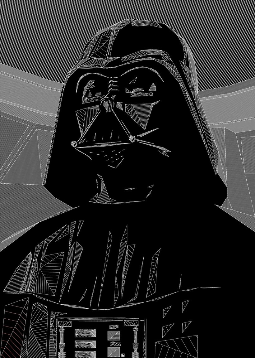 "Dark Lord of the Sith ""DARTH VADER"" 3"