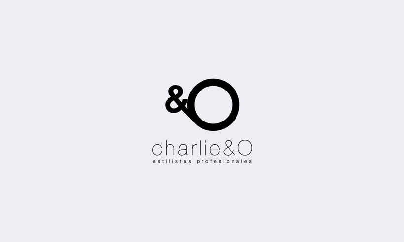 Identidad corporativa Charlie&O 1