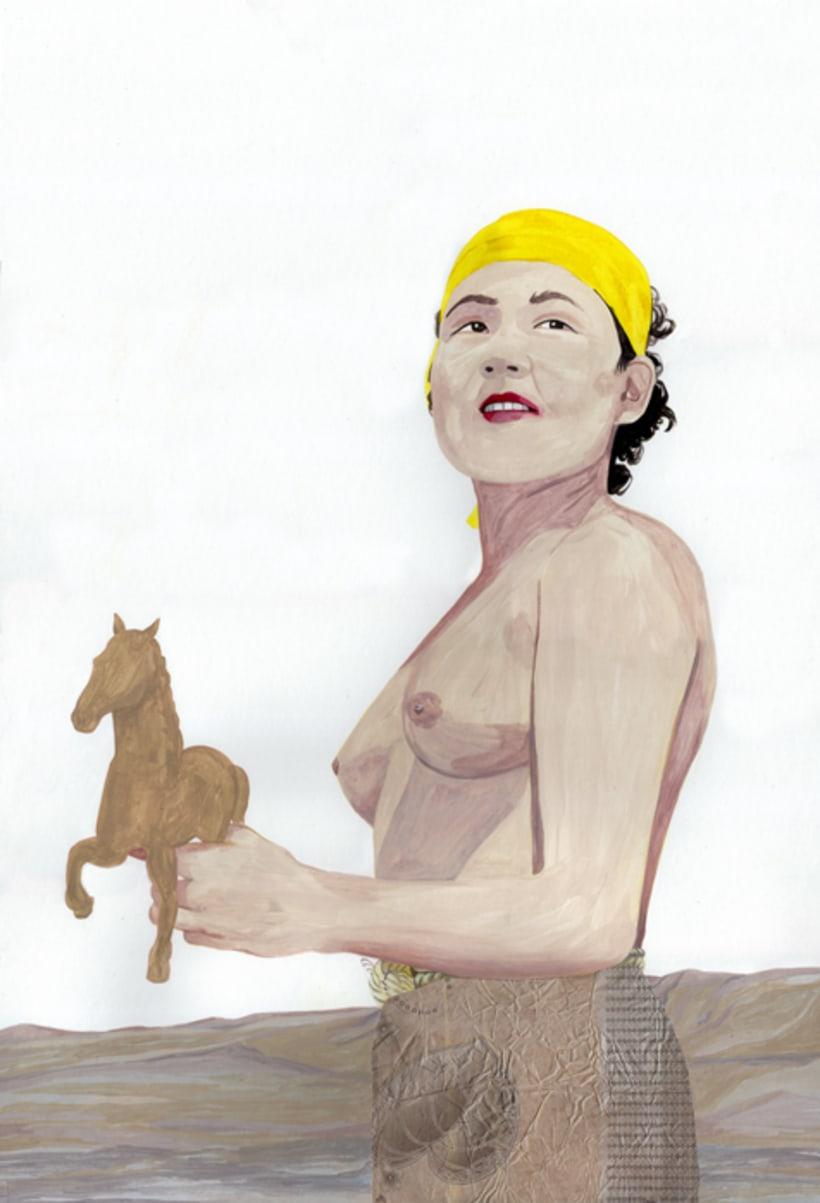 Acrylic paintings 1