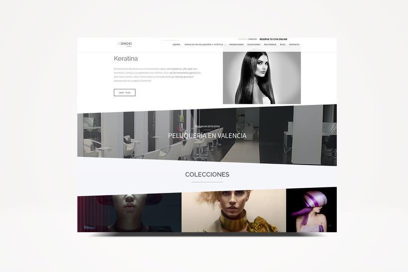 Web DeSancho estilistas. 3