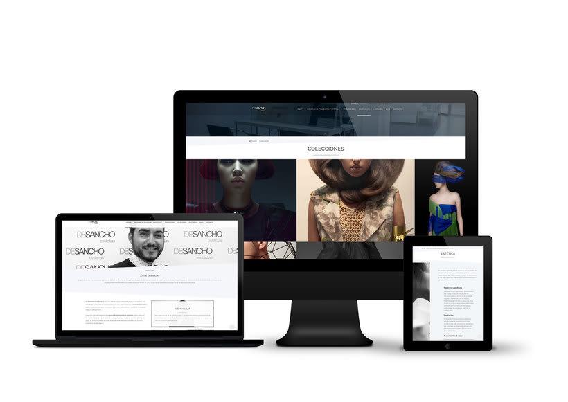 Web DeSancho estilistas. 4