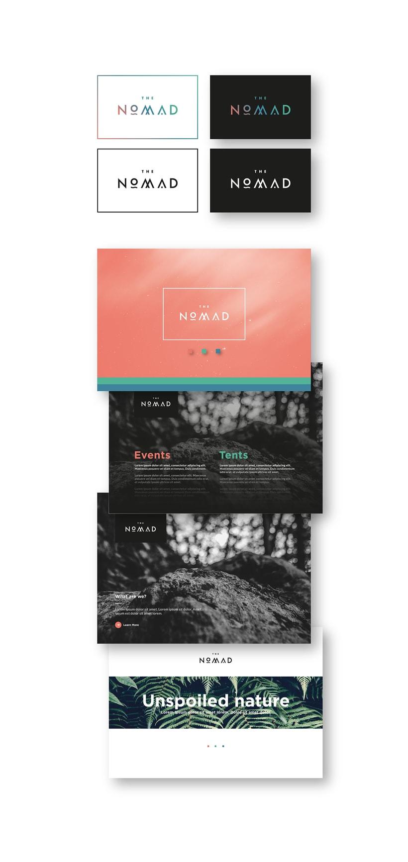 The Nomad | Branding 6