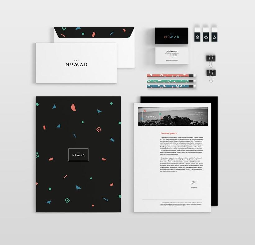 The Nomad | Branding 7
