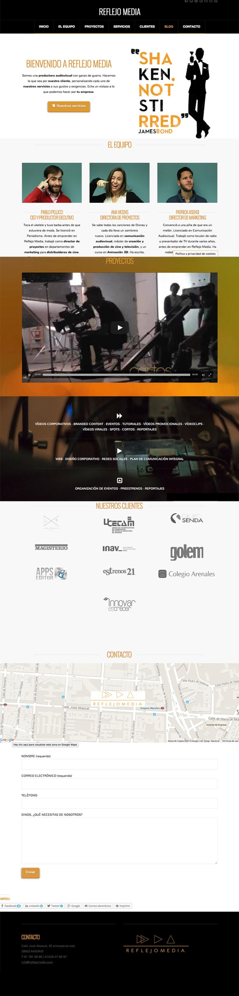 web reflejomedia 0