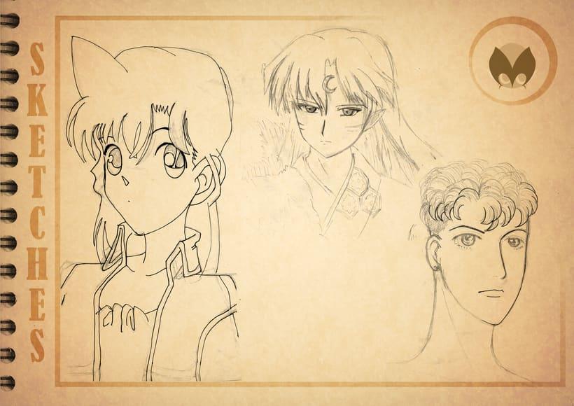 Bocetos manga 2