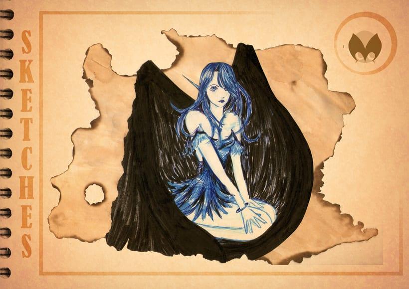 Bocetos manga 21