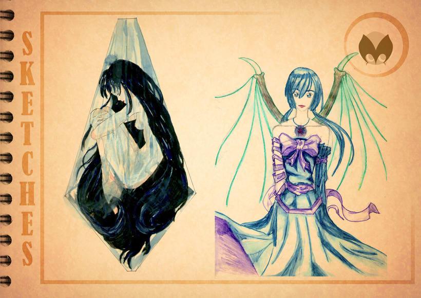 Bocetos manga 22