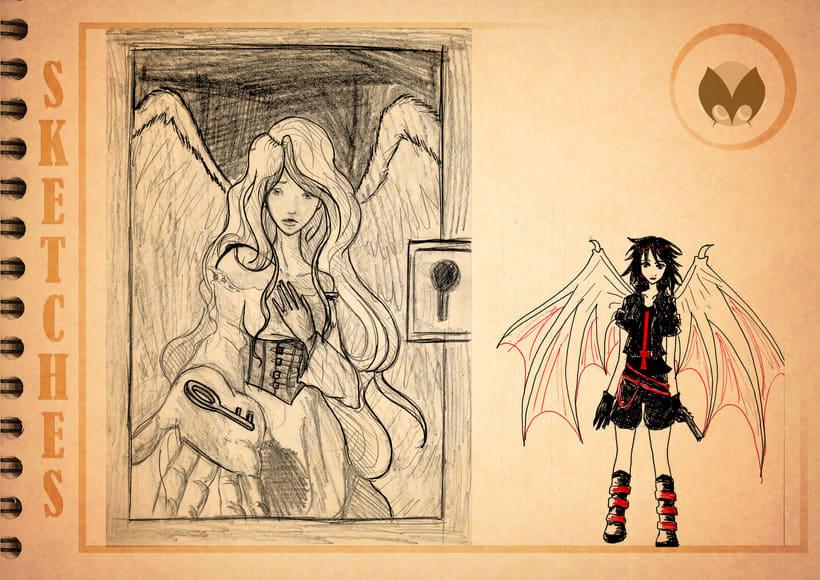Bocetos manga 24