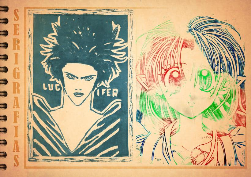 Bocetos manga 25