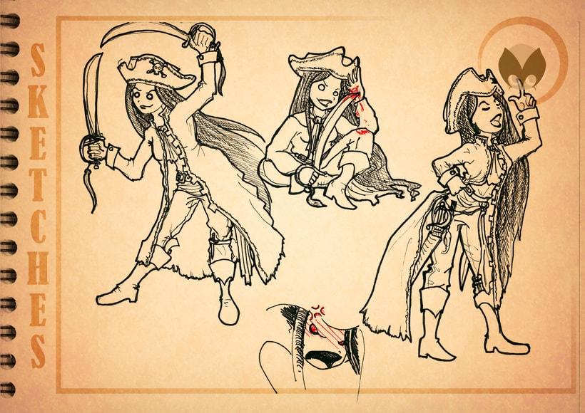 Bocetos manga 4