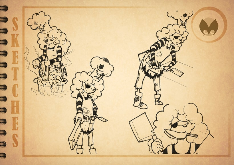 Bocetos manga 5