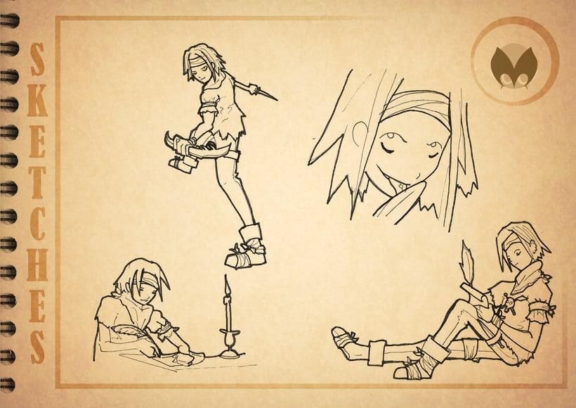 Bocetos manga 8