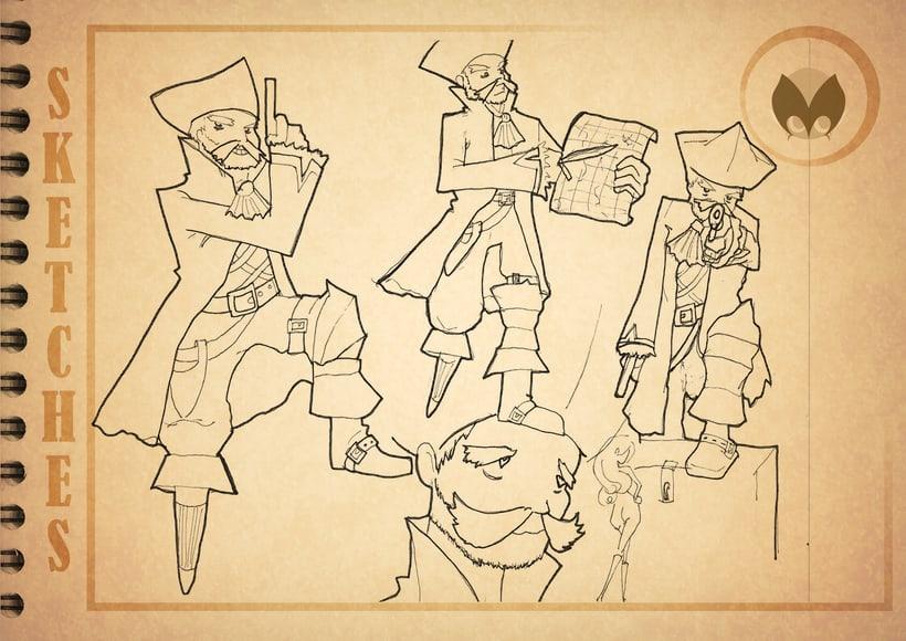 Bocetos manga 10