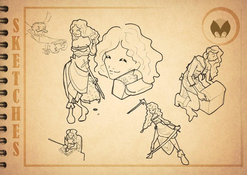 Bocetos manga 11
