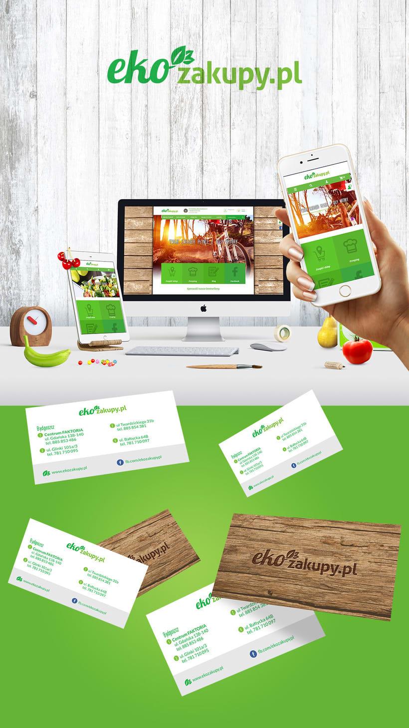 Ekozakupy - Diseño web, identidad y aplicaciones 1