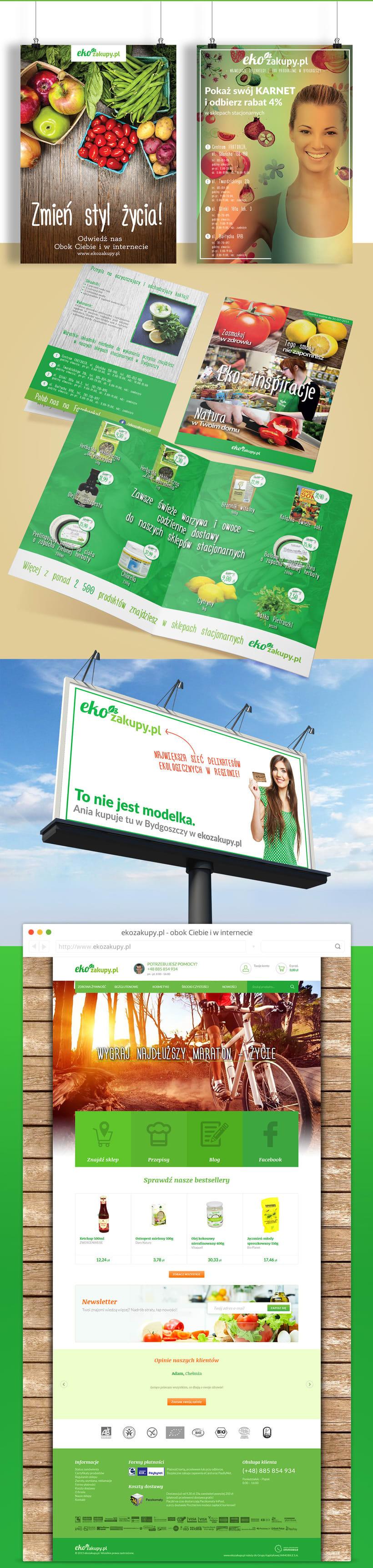 Ekozakupy - Diseño web, identidad y aplicaciones 2