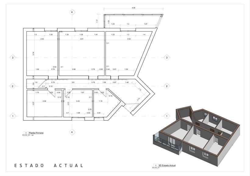Arquitectura - REFORMA CLÍNICA DENTAL.  Proyecto Básico. -1