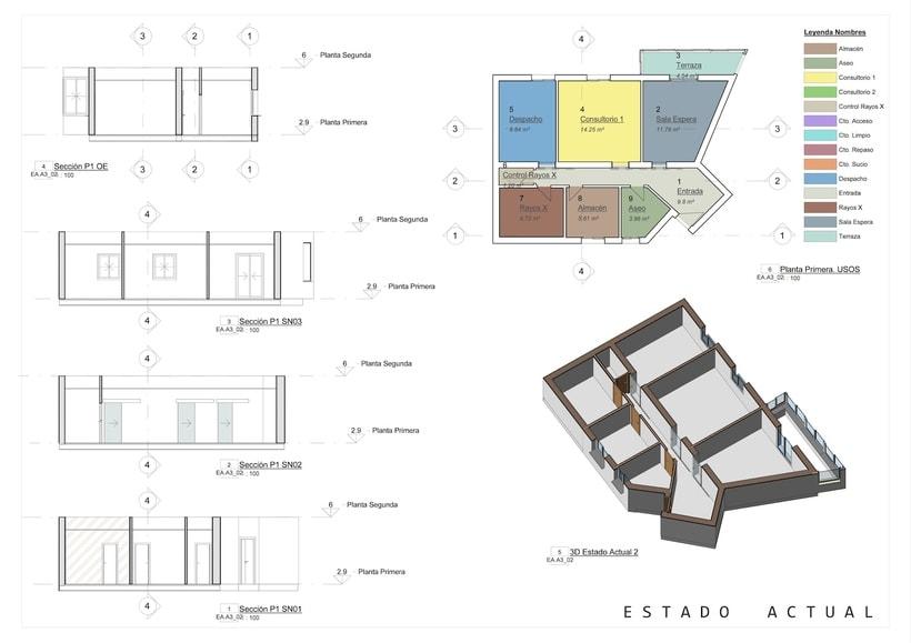 Arquitectura - REFORMA CLÍNICA DENTAL.  Proyecto Básico. 0