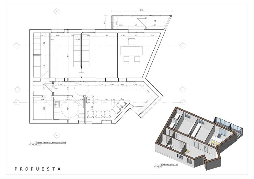 Arquitectura - REFORMA CLÍNICA DENTAL.  Proyecto Básico. 2