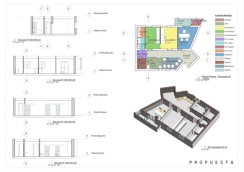 Arquitectura - REFORMA CLÍNICA DENTAL.  Proyecto Básico. 3
