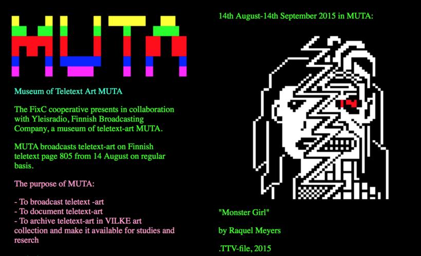Museum of Teletext Art MUTA 3