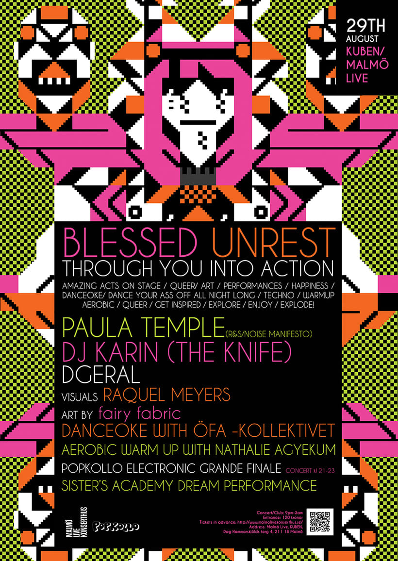 BLESSED UNREST / THROUGH YOU INTO ACTION -1