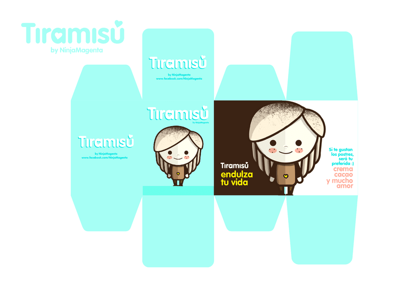 Tiramisú, tu preferida :) 3