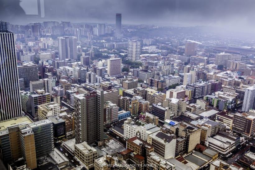 Top of Africa - Johannesburg CBD desde las alturas. 5