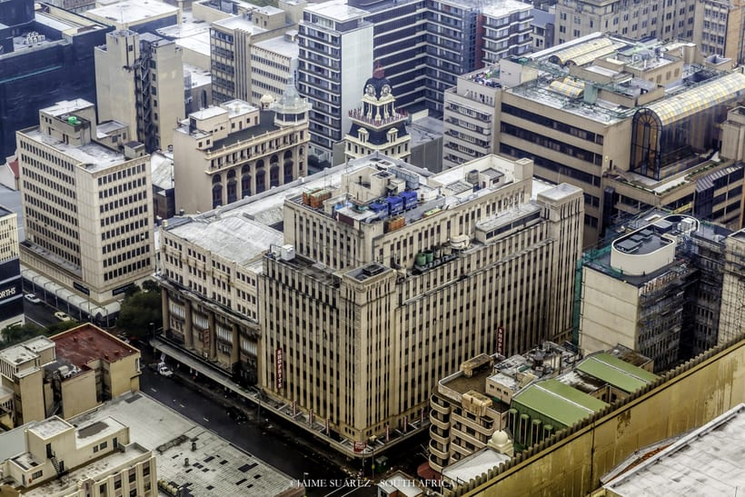 Top of Africa - Johannesburg CBD desde las alturas. 8