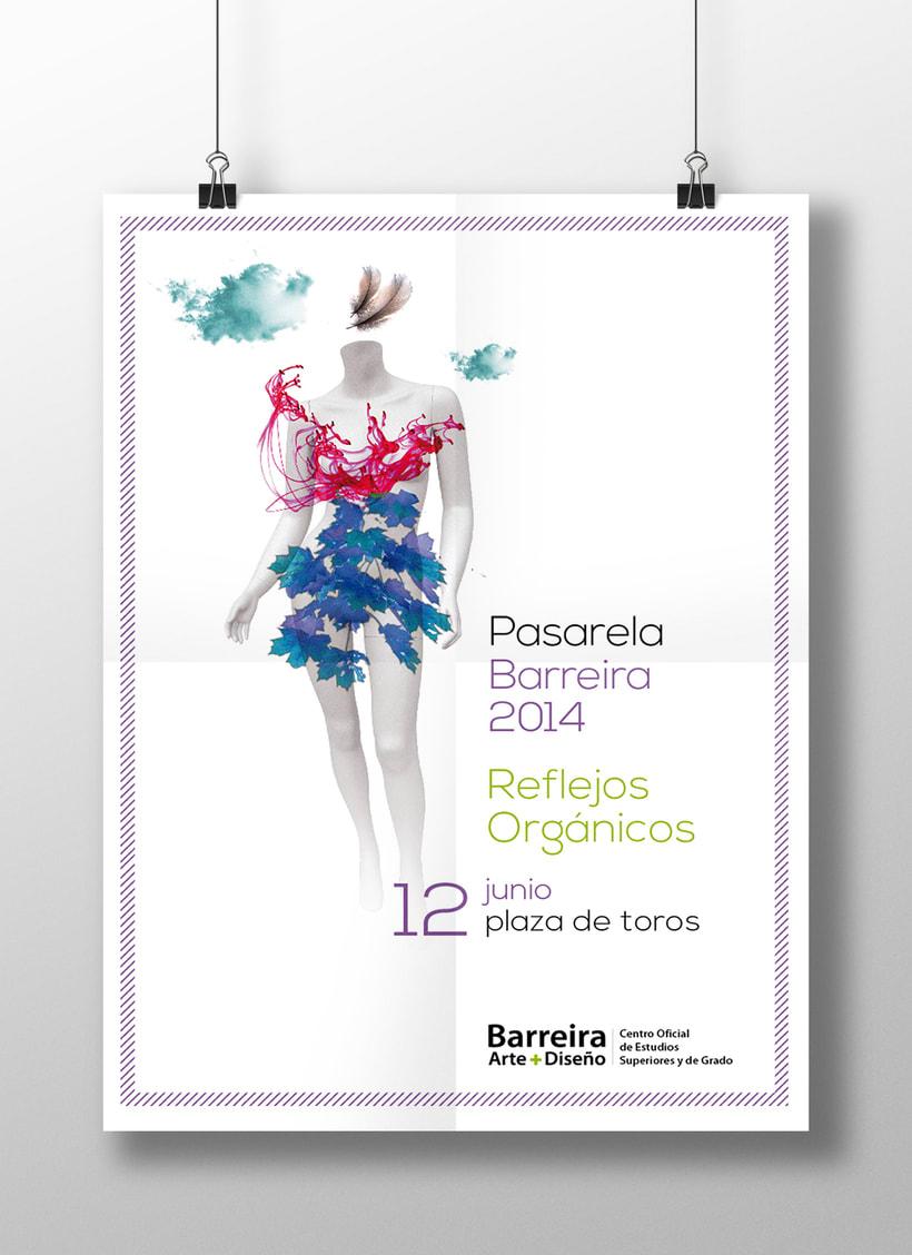 Cartel Pasarela Barreira 2014 0