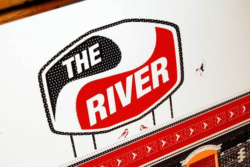 Cartel 15 aniversario The River -1