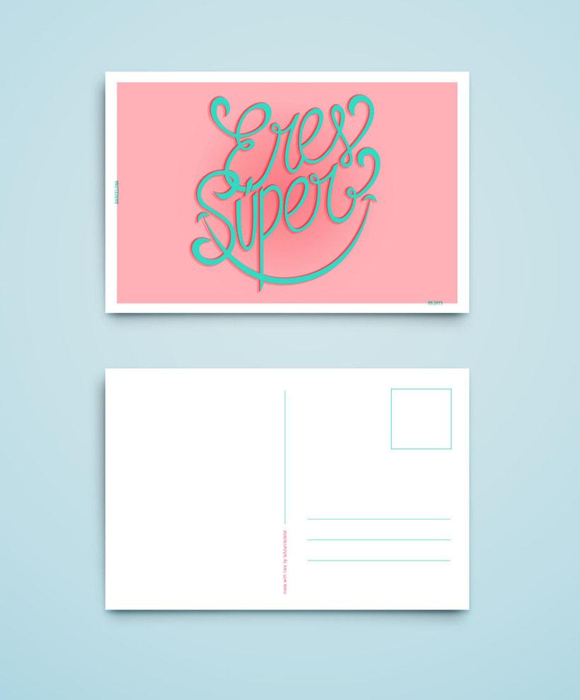 Proyecto del curso Los secretos dorados del lettering 0