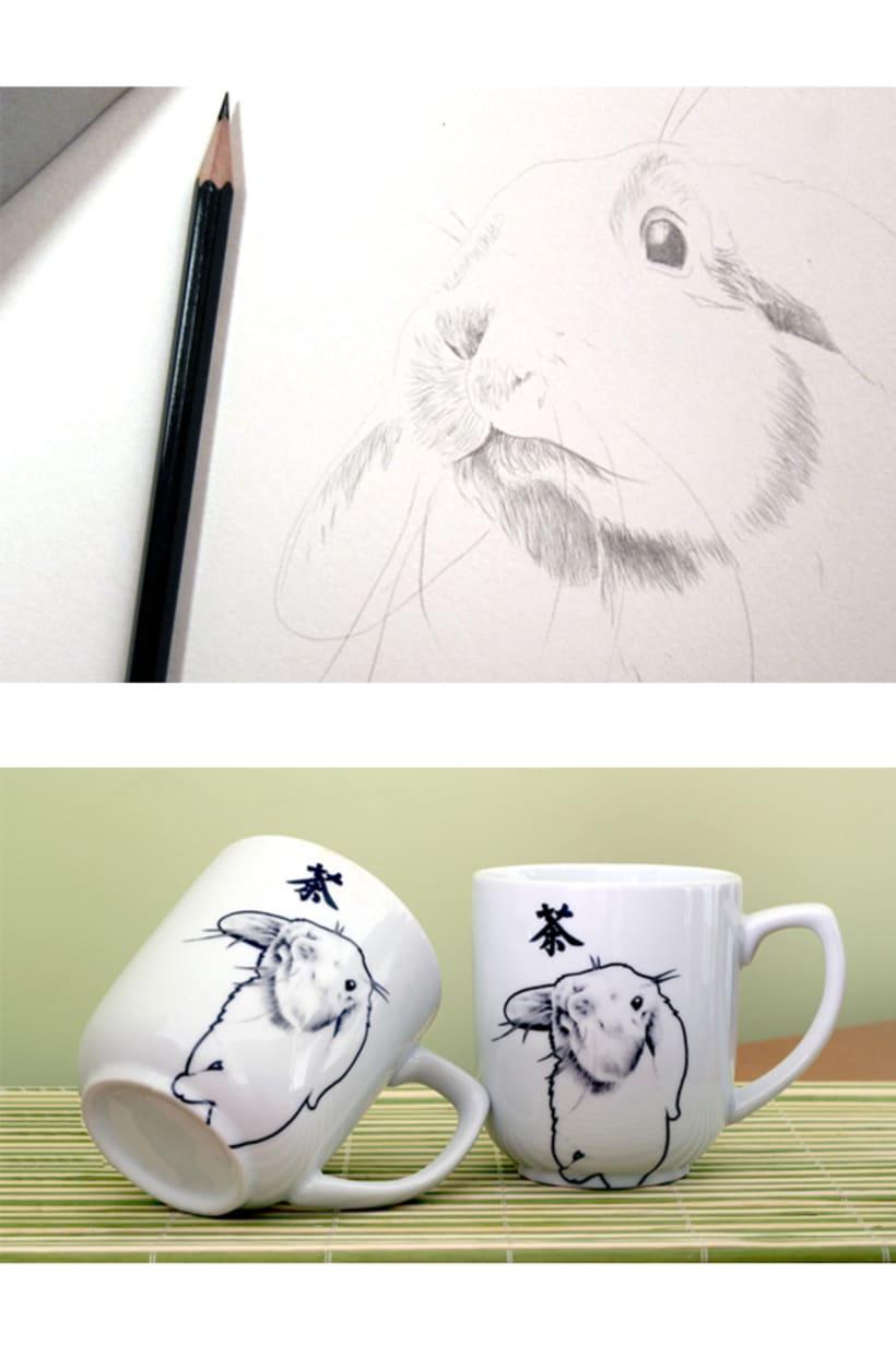 Taza conejo 0