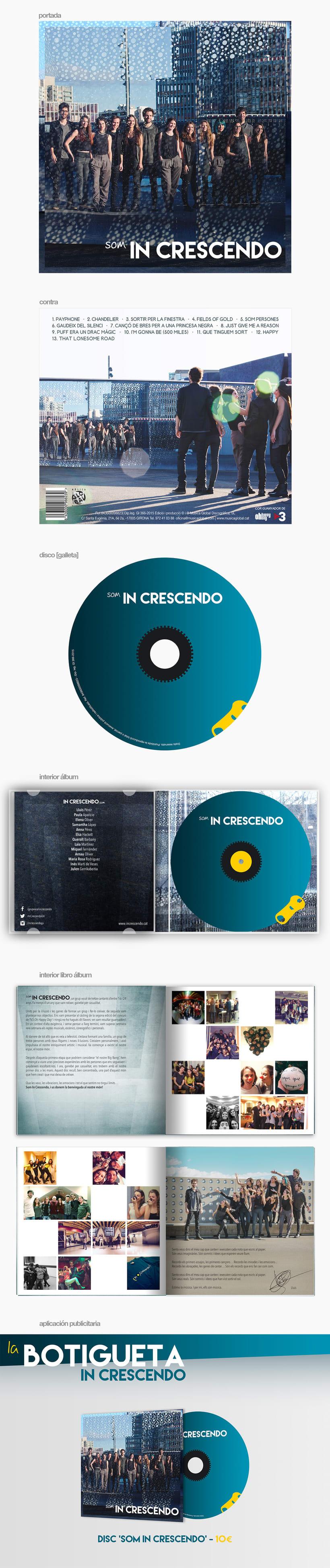 Álbum 'Som In Crescendo' 1