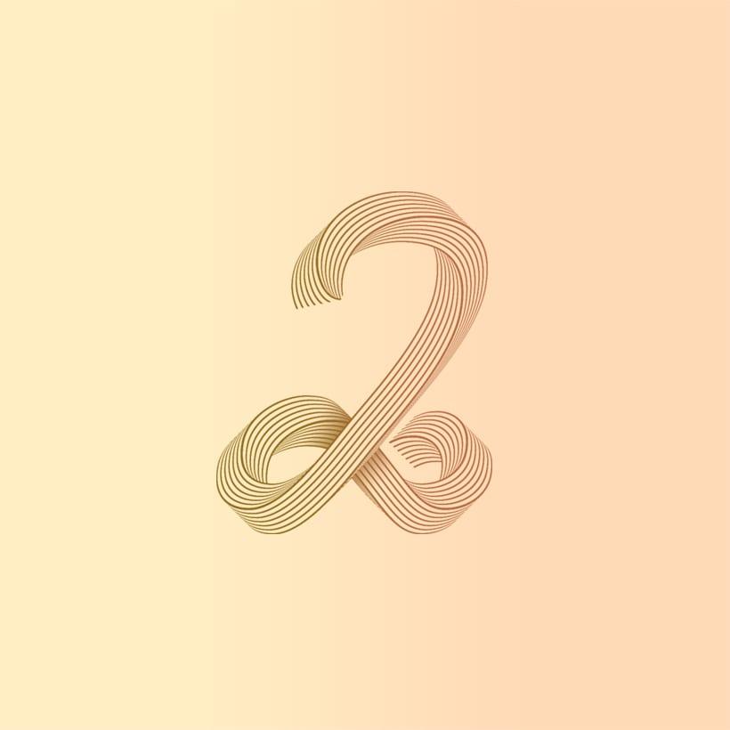 Numberline Font 3