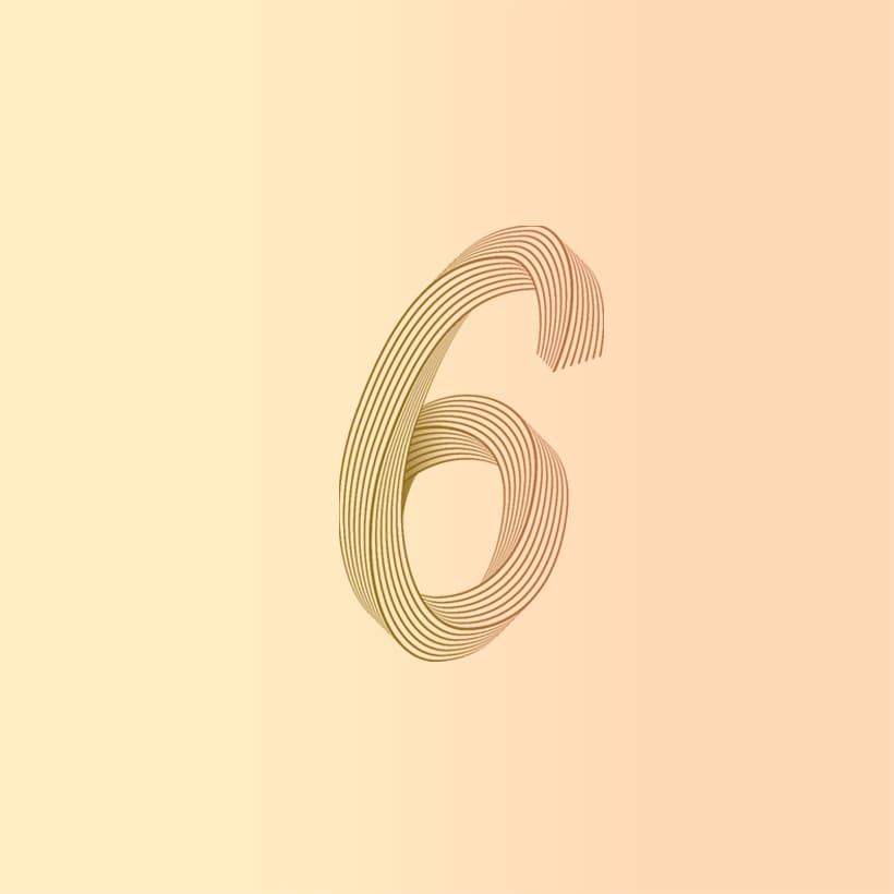 Numberline Font 11