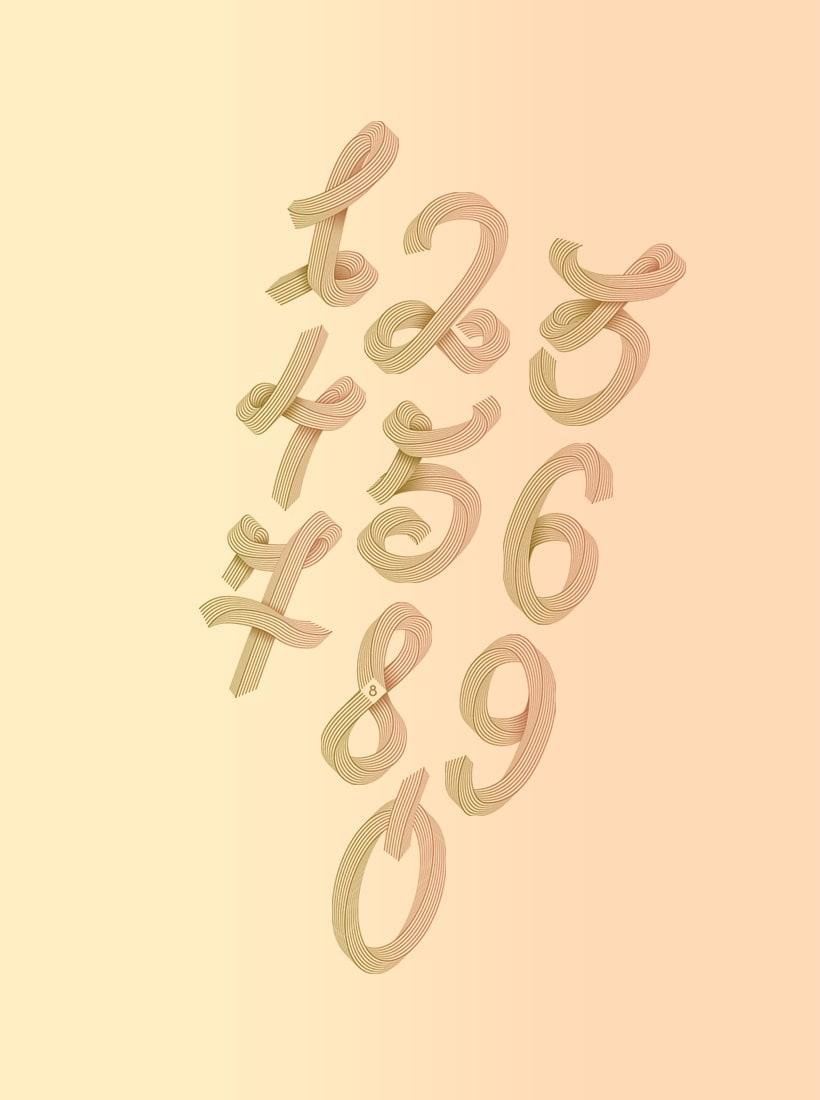 Numberline Font 21