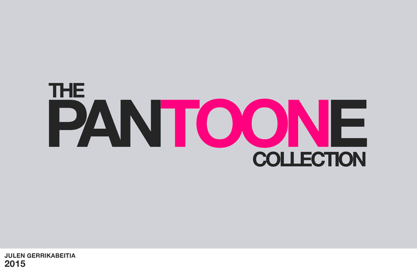 The Pantoone Collection 1